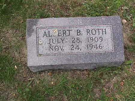 ROTH, ALBERT B. - Henry County, Iowa | ALBERT B. ROTH