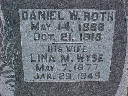 ROTH, DANIEL W. - Henry County, Iowa | DANIEL W. ROTH