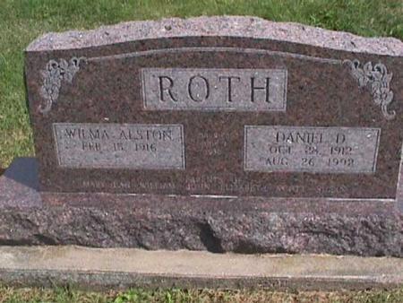ROTH, DANIEL D. - Henry County, Iowa | DANIEL D. ROTH