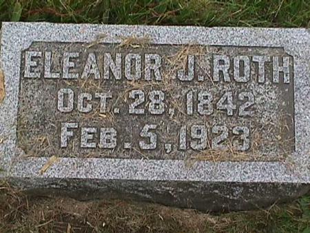 ROTH, ELEANOR J - Henry County, Iowa | ELEANOR J ROTH