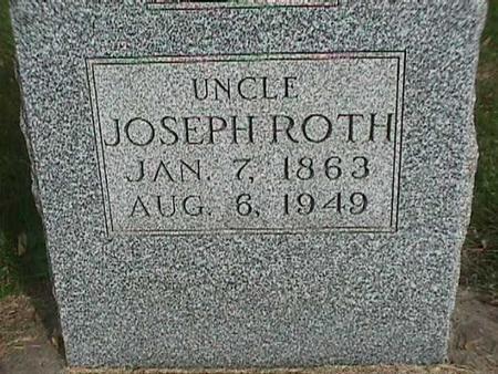 ROTH, JOSEPH - Henry County, Iowa | JOSEPH ROTH