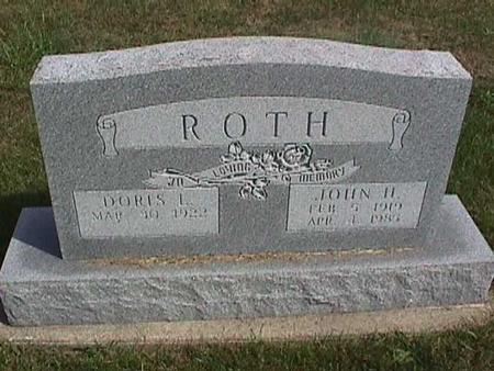 ROTH, JOHN - Henry County, Iowa | JOHN ROTH