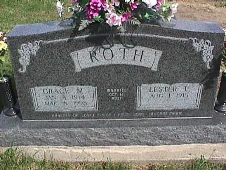 ROTH, GRACE M. - Henry County, Iowa | GRACE M. ROTH
