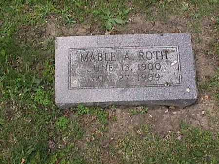 ROTH, MABLE A. - Henry County, Iowa | MABLE A. ROTH