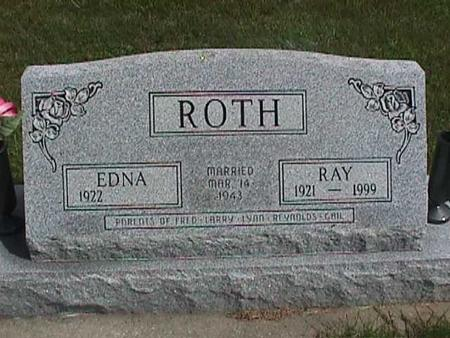 ROTH, EDNA - Henry County, Iowa | EDNA ROTH