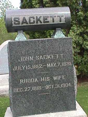 SACKETT, JOHN - Henry County, Iowa | JOHN SACKETT