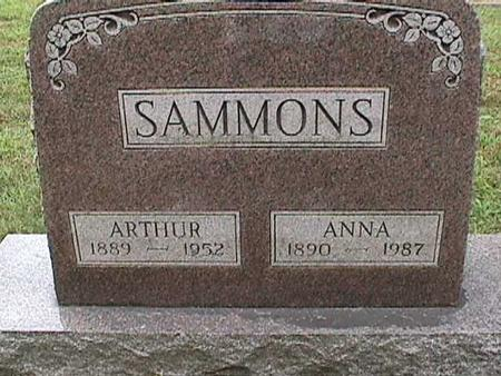 SAMMONS, ARTHUR - Henry County, Iowa | ARTHUR SAMMONS