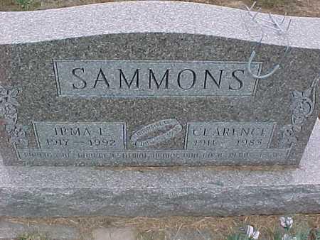 SAMMONS, CLARENCE - Henry County, Iowa | CLARENCE SAMMONS