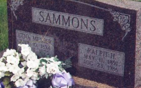 MESSER SAMMONS, ETNA - Henry County, Iowa | ETNA MESSER SAMMONS