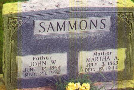 SAMMONS, JOHN W - Henry County, Iowa | JOHN W SAMMONS
