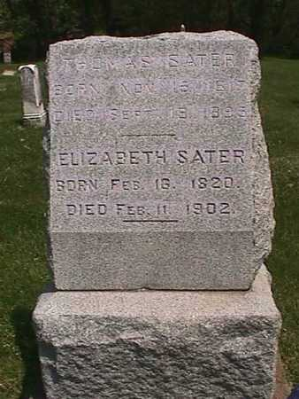 SATER, THOMAS - Henry County, Iowa | THOMAS SATER