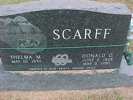 SCARFF, THELMA - Henry County, Iowa | THELMA SCARFF