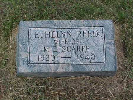 REED SCARFF, ETHELYN - Henry County, Iowa | ETHELYN REED SCARFF