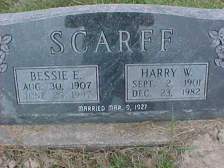 SCARFF, HARRY - Henry County, Iowa | HARRY SCARFF