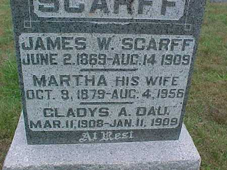 SCARFF, MARTHA - Henry County, Iowa | MARTHA SCARFF