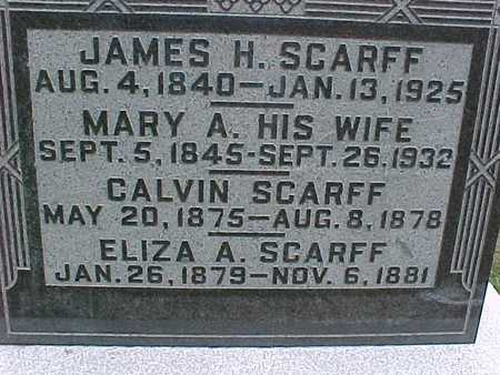 SCARFF, MARY - Henry County, Iowa | MARY SCARFF