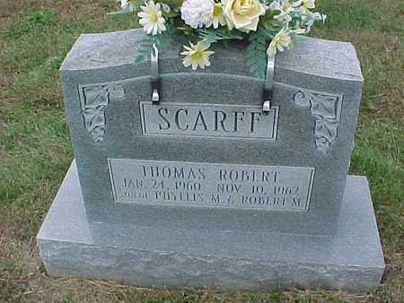 SCARFF, THOMAS ROBERT - Henry County, Iowa | THOMAS ROBERT SCARFF