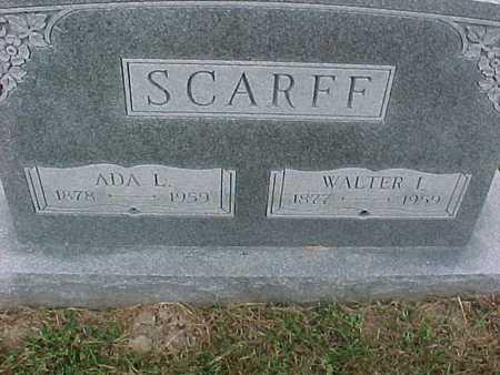 SCARFF, WALTER - Henry County, Iowa | WALTER SCARFF