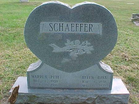 SCHAEFFER, HELEN - Henry County, Iowa | HELEN SCHAEFFER
