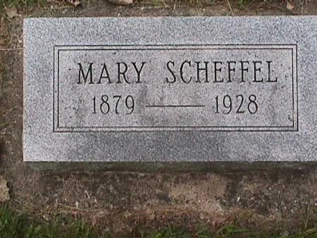 SCHEFFEL, MARY - Henry County, Iowa | MARY SCHEFFEL
