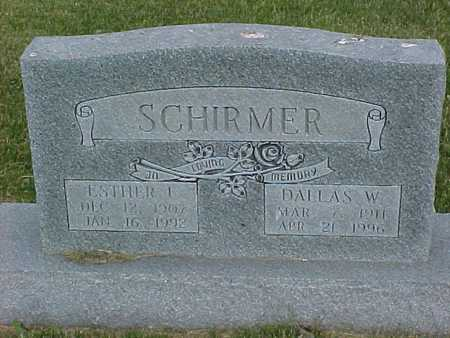 SCHIRMER, DALLAS - Henry County, Iowa | DALLAS SCHIRMER
