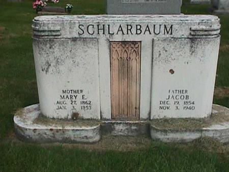 SCHLARBAUM, MARY E - Henry County, Iowa | MARY E SCHLARBAUM
