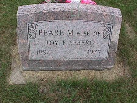 SEBERG, PEARL M. - Henry County, Iowa | PEARL M. SEBERG