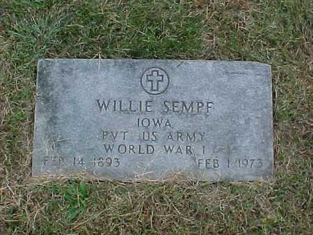 SEMPF, WILLIE - Henry County, Iowa | WILLIE SEMPF