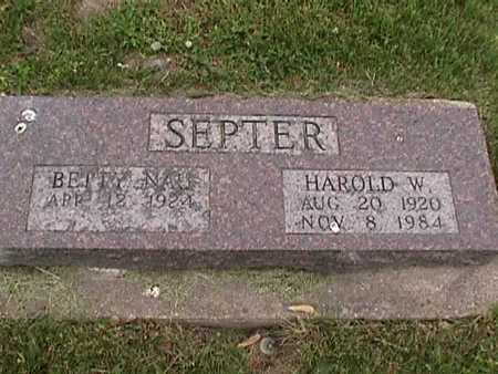 SEPTER, HAROLD - Henry County, Iowa | HAROLD SEPTER