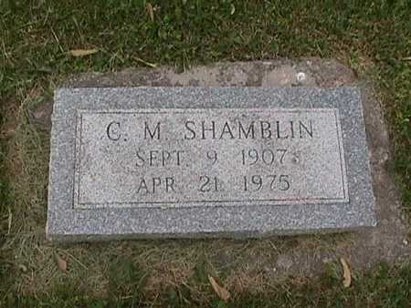 SHAMBLIN, C. M. - Henry County, Iowa | C. M. SHAMBLIN