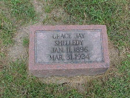 JAY SHELLEDY, GRACE - Henry County, Iowa | GRACE JAY SHELLEDY
