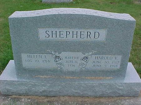 SHEPHERD, HAROLD - Henry County, Iowa | HAROLD SHEPHERD