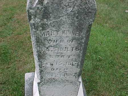 KINNEY SHULTS, MARY - Henry County, Iowa | MARY KINNEY SHULTS