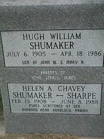 SHUMAKER, HUGH WILLIAM - Henry County, Iowa | HUGH WILLIAM SHUMAKER