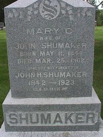 SHUMAKER, JOHN H - Henry County, Iowa | JOHN H SHUMAKER