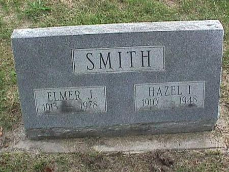 SMITH, HAZEL I - Henry County, Iowa | HAZEL I SMITH