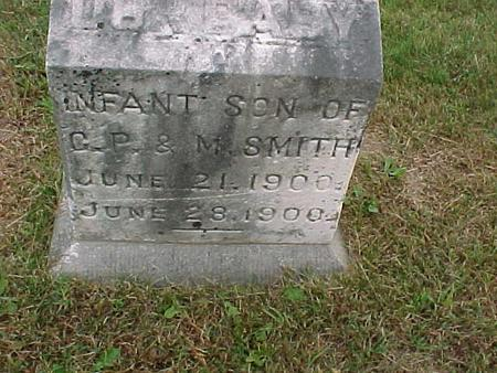SMITH, INFANT SON - Henry County, Iowa | INFANT SON SMITH