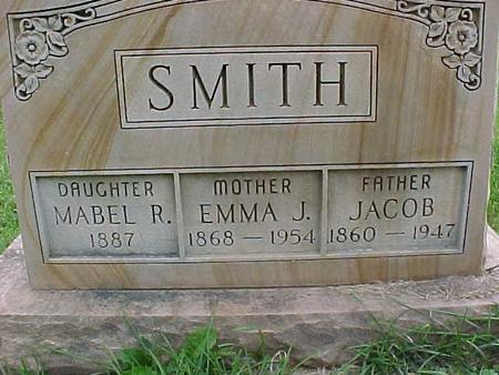 SMITH, EMMA J - Henry County, Iowa | EMMA J SMITH