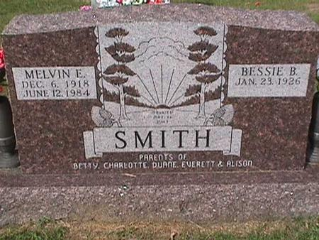 SMITH, MELVIN E - Henry County, Iowa | MELVIN E SMITH