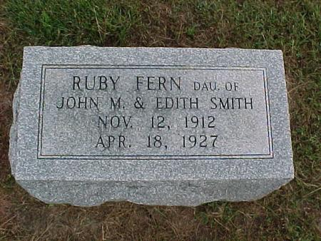 SMITH, RUBY FERN - Henry County, Iowa | RUBY FERN SMITH