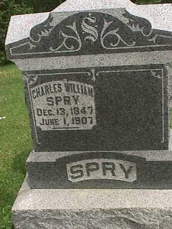 SPRY, CHARLES WILLIAM - Henry County, Iowa | CHARLES WILLIAM SPRY