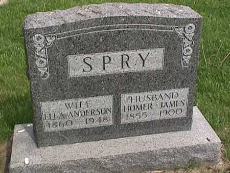 SPRY, HOMER JAMES - Henry County, Iowa | HOMER JAMES SPRY