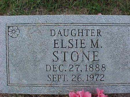 STONE, ELSIE M. - Henry County, Iowa | ELSIE M. STONE