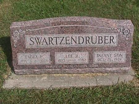 SWARTZENDRUBER, INFANT SON - Henry County, Iowa | INFANT SON SWARTZENDRUBER