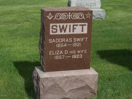 SWIFT, ELIZA D. - Henry County, Iowa | ELIZA D. SWIFT