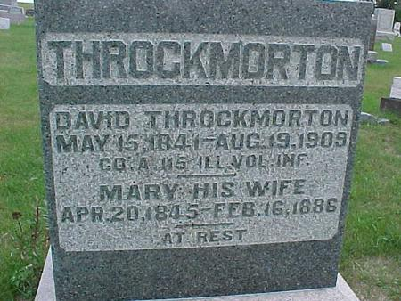THROCKMORTON, MARY - Henry County, Iowa | MARY THROCKMORTON