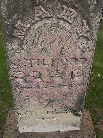 TILFORD, MARY - Henry County, Iowa | MARY TILFORD