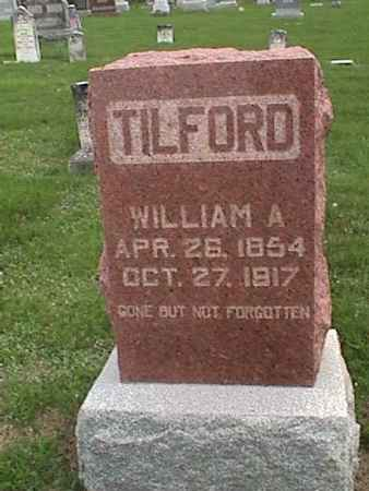 TILFORD, WILLIAM A. - Henry County, Iowa | WILLIAM A. TILFORD