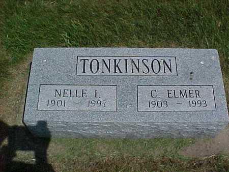 TONKINSON, C. ELMER - Henry County, Iowa | C. ELMER TONKINSON