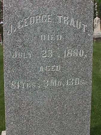 TRAUT, J. GEORGE - Henry County, Iowa | J. GEORGE TRAUT